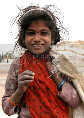 Manual Scavenger Girl - India