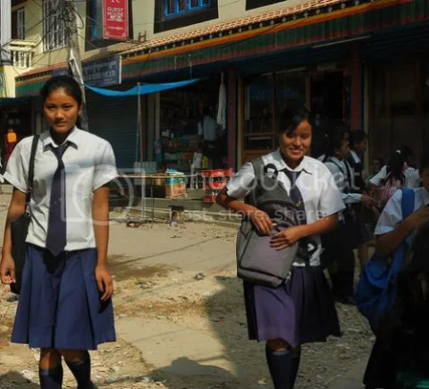 Nepal new computer learning brings girls empowerment and education nepal schoolgirls kathmandu ccuart Images