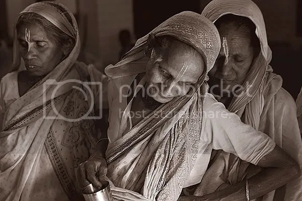 Widows of Vrindavan, India