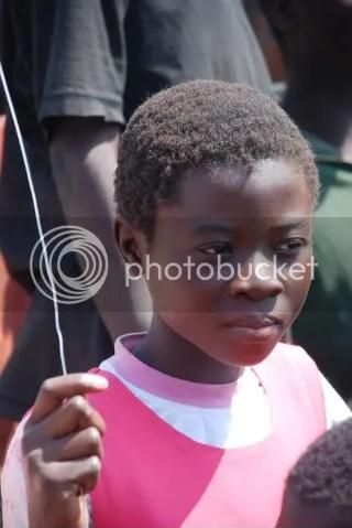 Zambian school girl