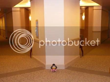 V-shaped hallways