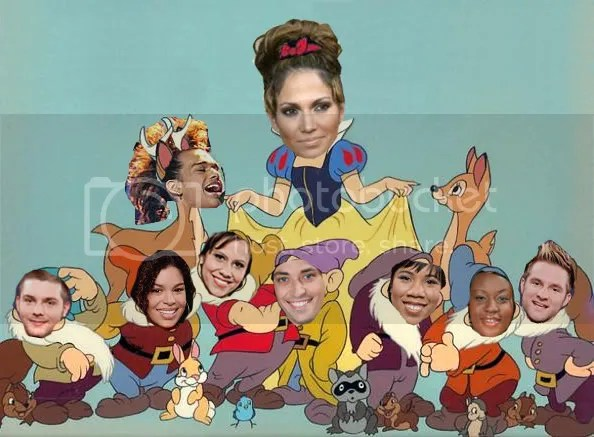 J. Lo and the Eight Dwarfs