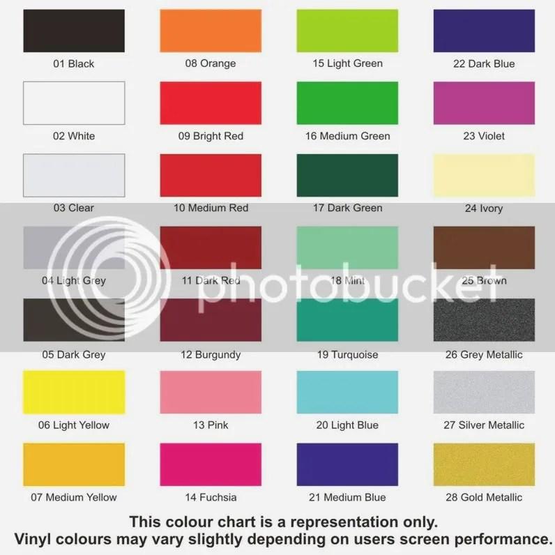Colour Chart Paints Tobago Trinity Trinidad