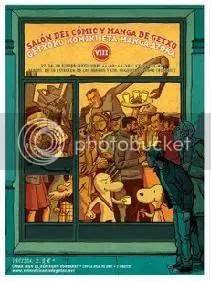 cartel getxo comic 2009