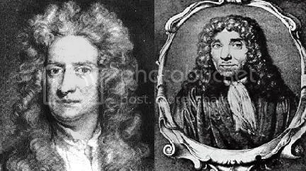 isaac newton vs robert hook