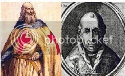 jacques de molay vs papa clemente V
