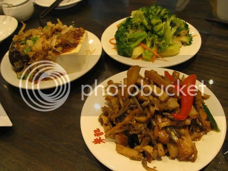 Taiwan SOGO appetizers
