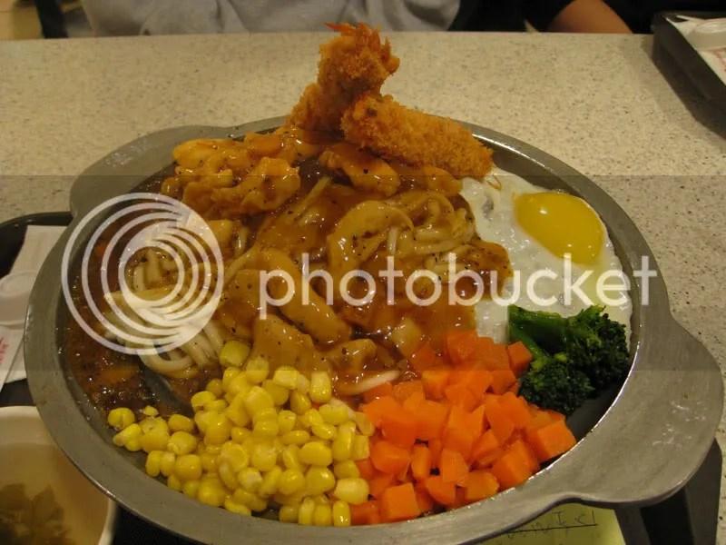 Taiwan food chicken shrimp