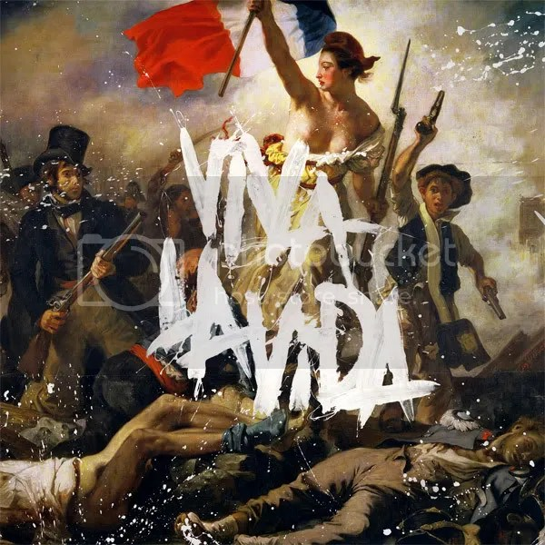 Viva La Vida or Death and All His Friends, 2008. Coldplay (active 1997-present). Record Company: Capitol. Design: Tappin Gofton. Painting: Eugène Delacroix.