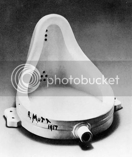 Fountain, 1917. Marcel Duchamp.