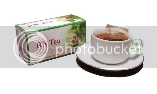 Rossen Tea terbuat dari daun teh hijau terbaik dan daun mint menyegarkan