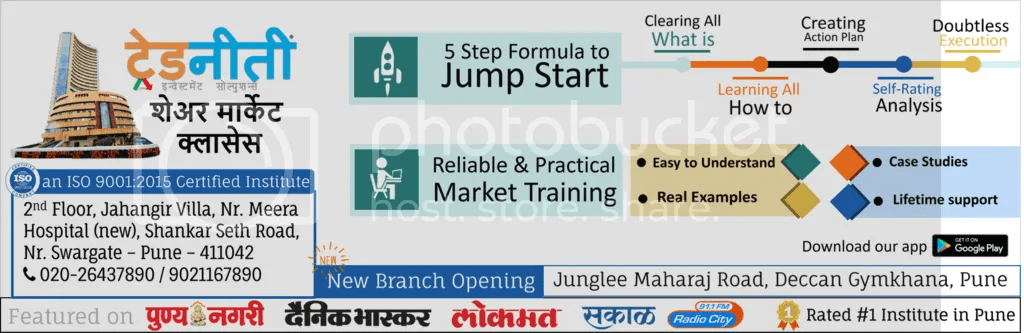 share marekt classes in pune