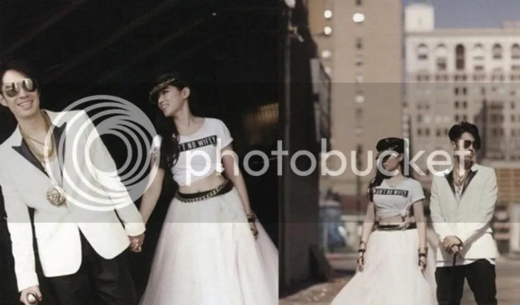 吳建豪 Vanness Wu and 石貞善 Arissa Cheo Pre-Wedding Pictures