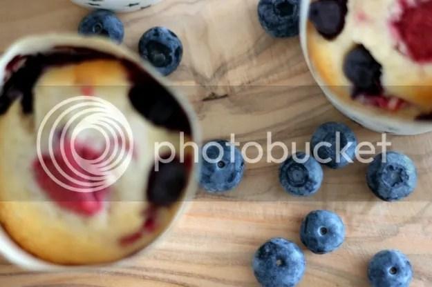 Bosvruchtencupcake