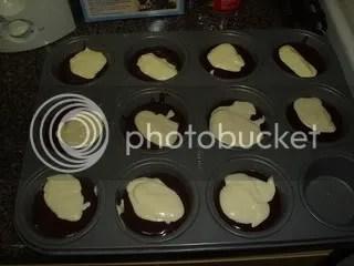 CB mix in cupcake pan