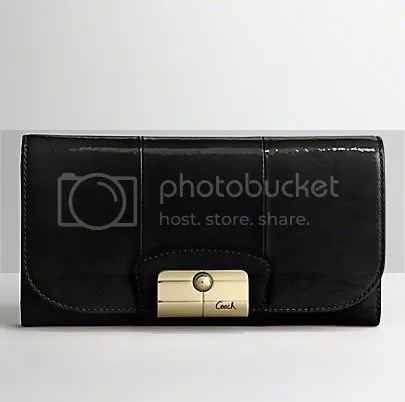 Coach Kristin Checkbook Wallet