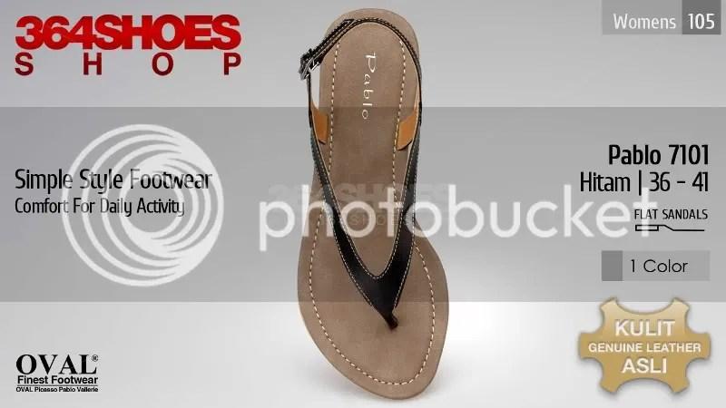 Sandal Wanita PABLO 7101 Hitam