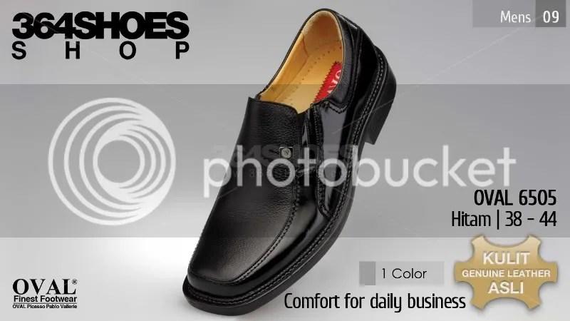 Sepatu Pria OVAL 6505 Warna Hitam