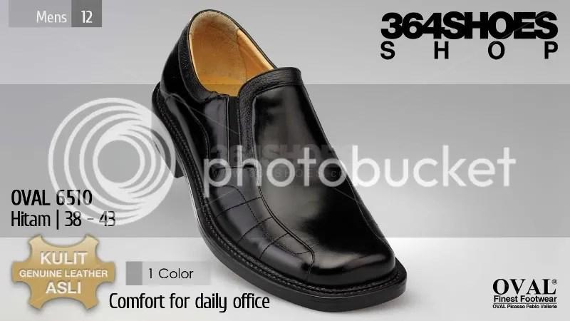 Sepatu Pria OVAL 6510 Warna Hitam