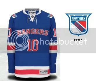 super popular 2e934 be6a9 The Rangers Jersey: An Evolution Story - FOREVER BLUESHIRTS