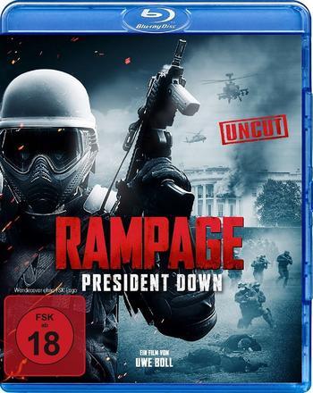 Rampage President Down (2016) 720p BRRip-MkvCage