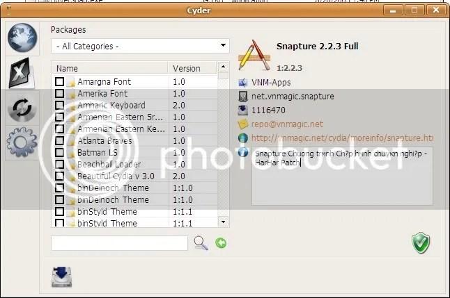 Hướng dẫn sử dụng Cyder – quản lý Cydia trên PC! | DIENMAY GA