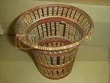 Basket, made in pottery