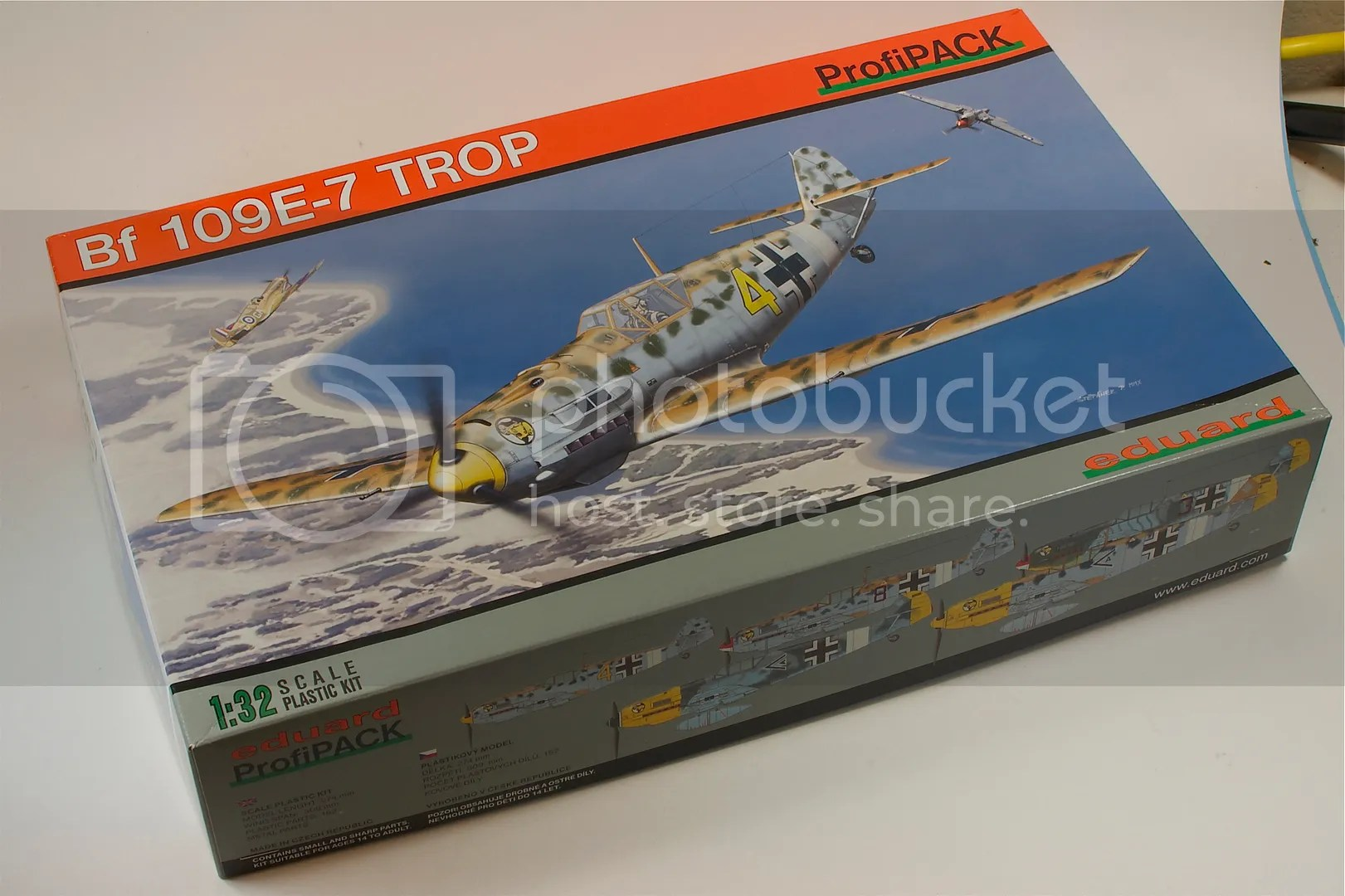 1/32,Bf-109E-7,2011,Eduard,scale models,January