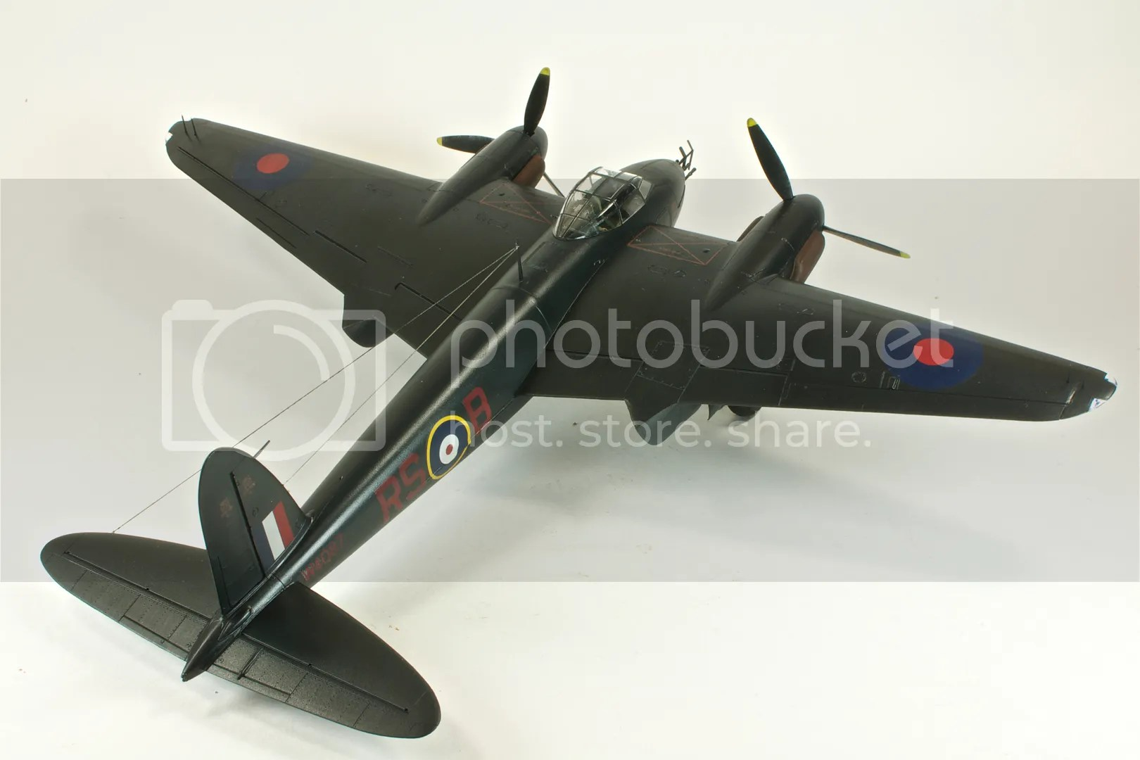 Mosquito NFII,1/48,2011,March,Tamiya,Nikon D300s,scale models