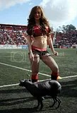 Mexican Soccer Cheerleaders / Porristas
