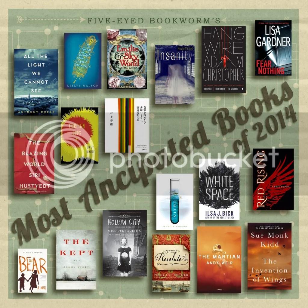 Most Anticipated Books 2014