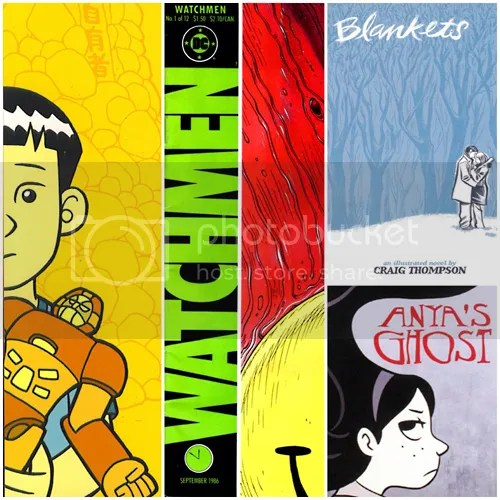 2014 Graphic Novel & Manga Challenge