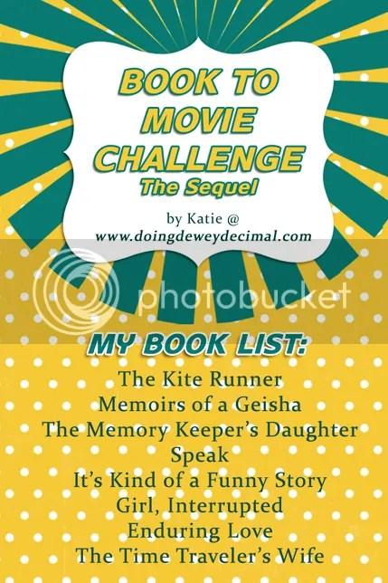2014 Book To Movie Challenge