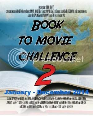 Book to Movie Challenge 2014