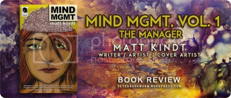 Mind MGMT, Vol. 1: The Manager Book Review