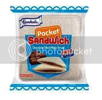 Gardenia Pocket Sandwiches #PocketFullOf #Pride Gardenia Chocolate Filled White Breads