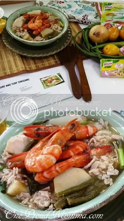 Knorr #LutongNanay #AsimKiligPaMore Surf and Turf Sinigang