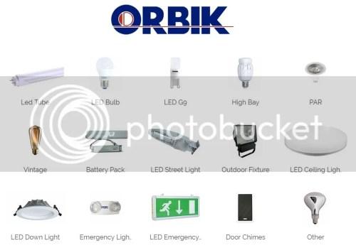 Orbik LED Lights