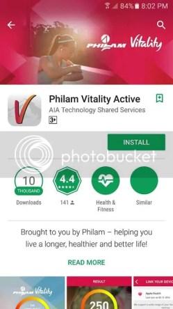 Philam Vitalitity Active App