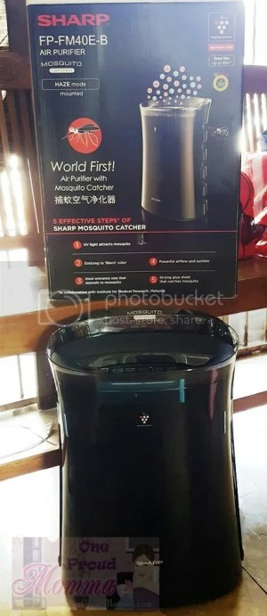 Sharp Plasmacluster Air Purifier UV+