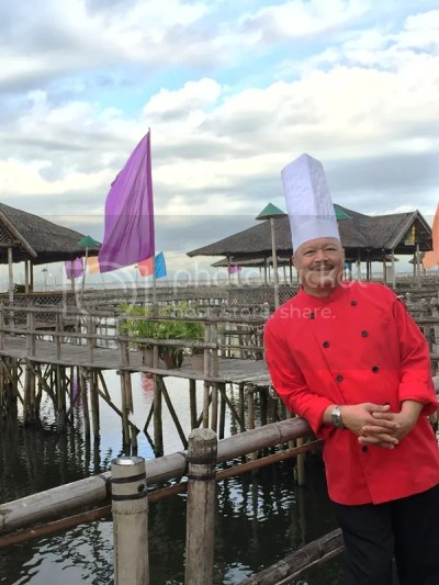Executive Chef Vill Purificacion Island Cove Hotel and Leisure Park Presents Taste Cavite Food Tour #TasteCavite