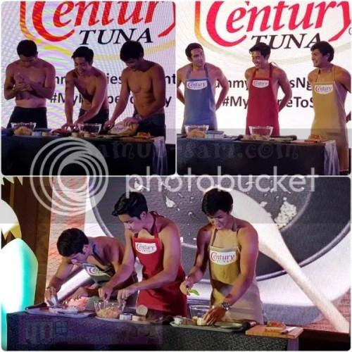 Century Tuna #MyRecipeToSexy Gerald Anderson Matteo Guidicelli and Paulo Avelino
