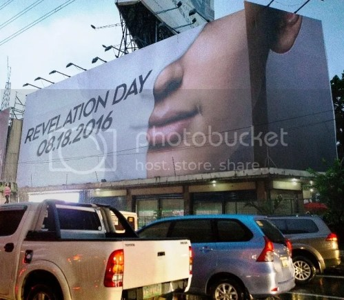 Century Tuna Guess the Hunk Billboard on EDSA