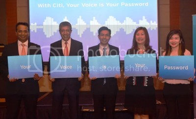 With Citi Philippines your voice is your password Voice Biometrics
