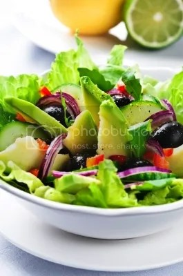 Salad With Avocado by tiramisustudio