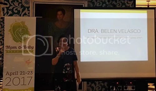 Mom and Baby Expo Philippines Dra. Belen Velasco
