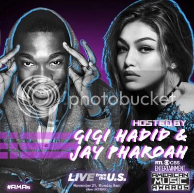 Gigi Hadid & Jay Pharoah to Host the 2016 American Music Awards
