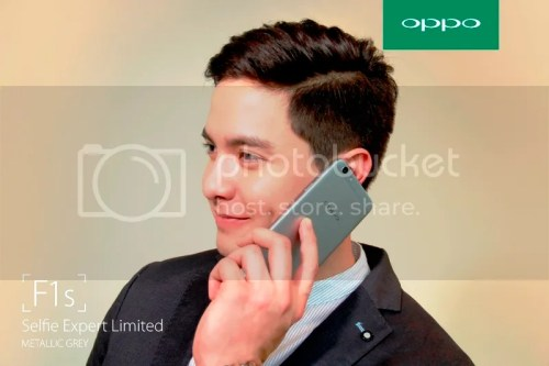 OPPO F1s Limited Alden Richards