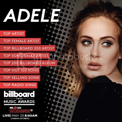 2016 Billboard Music Awards Presents New Adele Video