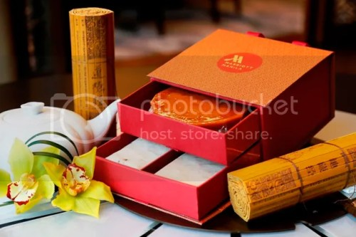 Marriott Manila Year of the Fire Rooster Gift box with Tikoy, Radish Cake and Taro Cake